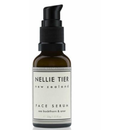Nellie Tier Face Serum Botanical Extracts NZ Made