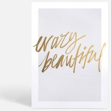 Crazy Beautiful Print Medium