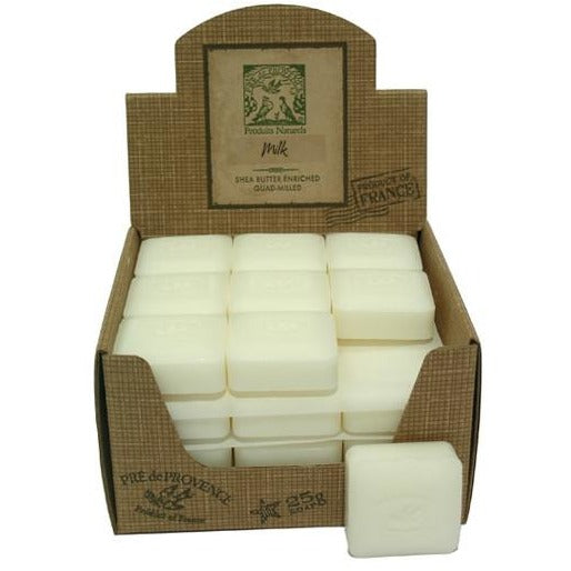 French milled guest soap 25 g Milk
