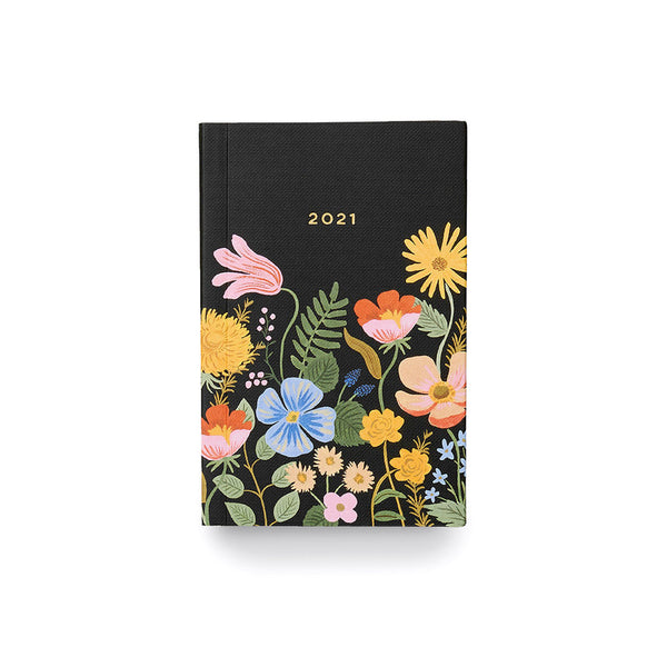 2021 12 Month Pocket Planner - Strawberry Fields Calendars + Diaries Default Title Rifle Paper