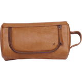Duffle & Co Ralph Tan Leather Toiletry Bag