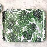 Rectangle Tray Large - Black/White/Tropica Serveware Tropica The Tray Shop