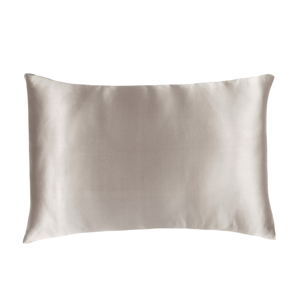 Pure Silk Pillowcase in Gift Box - 7 Colours Bedding Silver Mist Silk Magnolia