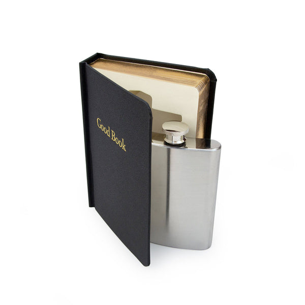 Flask in a Good Book Glass + Bar Ware Default Title Suck Uk