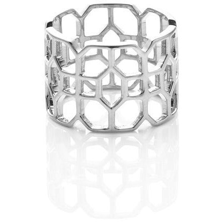Silk & Steel Stately Ring