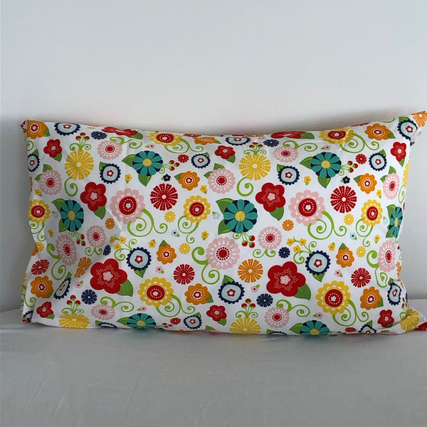 Bright Flowers Pillowcase