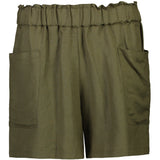 Tuesday Label Winnie Shorts - Khaki Linen