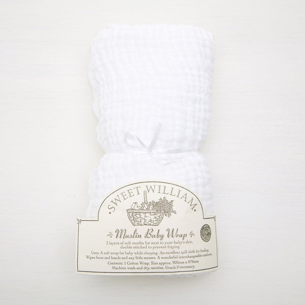 Muslin Baby Wrap Baby Default Title Sweet William