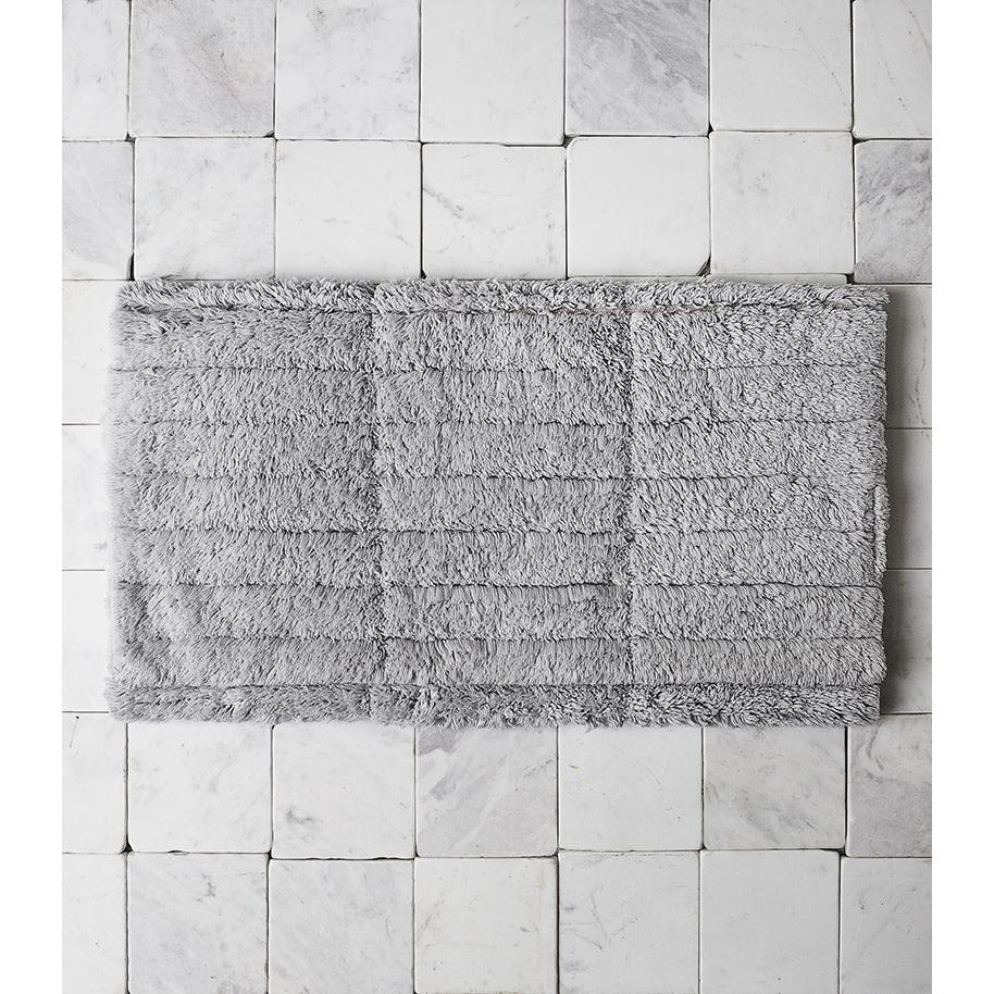 Soft Tiles Bath Mat  - Pure Grey Bathmats Default Title Zone Denmark