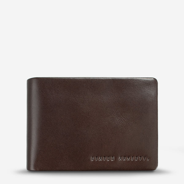 Jonah Wallet - Chocolate Bags + Wallets Default Title Status Anxiety