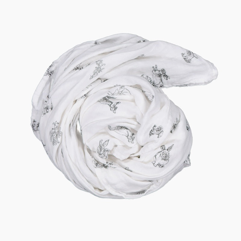 Burrow & Be Muslin Wrap, Baby Muslin Wrap, Burrow & Be Stockist