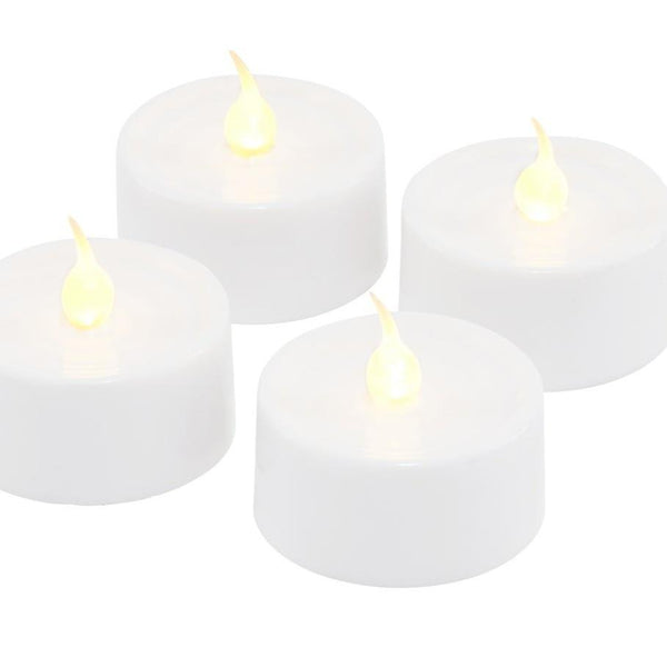 Sirius Lone Battery Lights Set of 4 White, Maytime Stockist, Sirius NZ Stockist, LED Tealight Candles