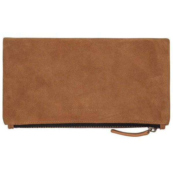 Status Anxiety Clutch Bag Feel the Night Tan