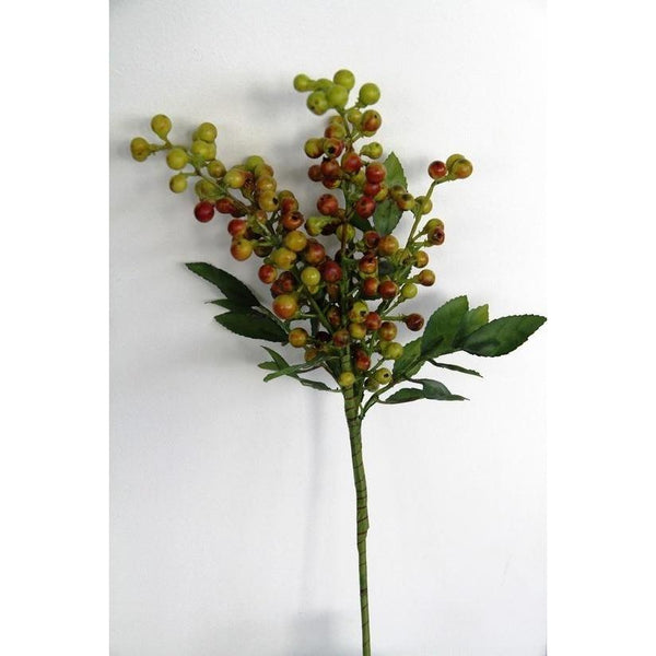 Berry Spray with Foliage Decorate Default Title Flower Systems