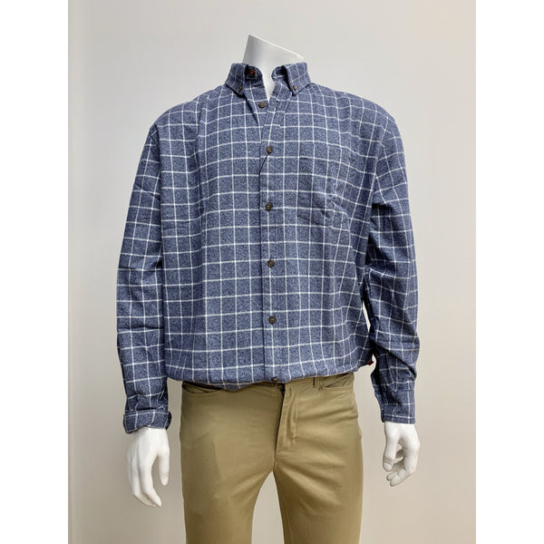 R F Scott Blue Angus Shirt