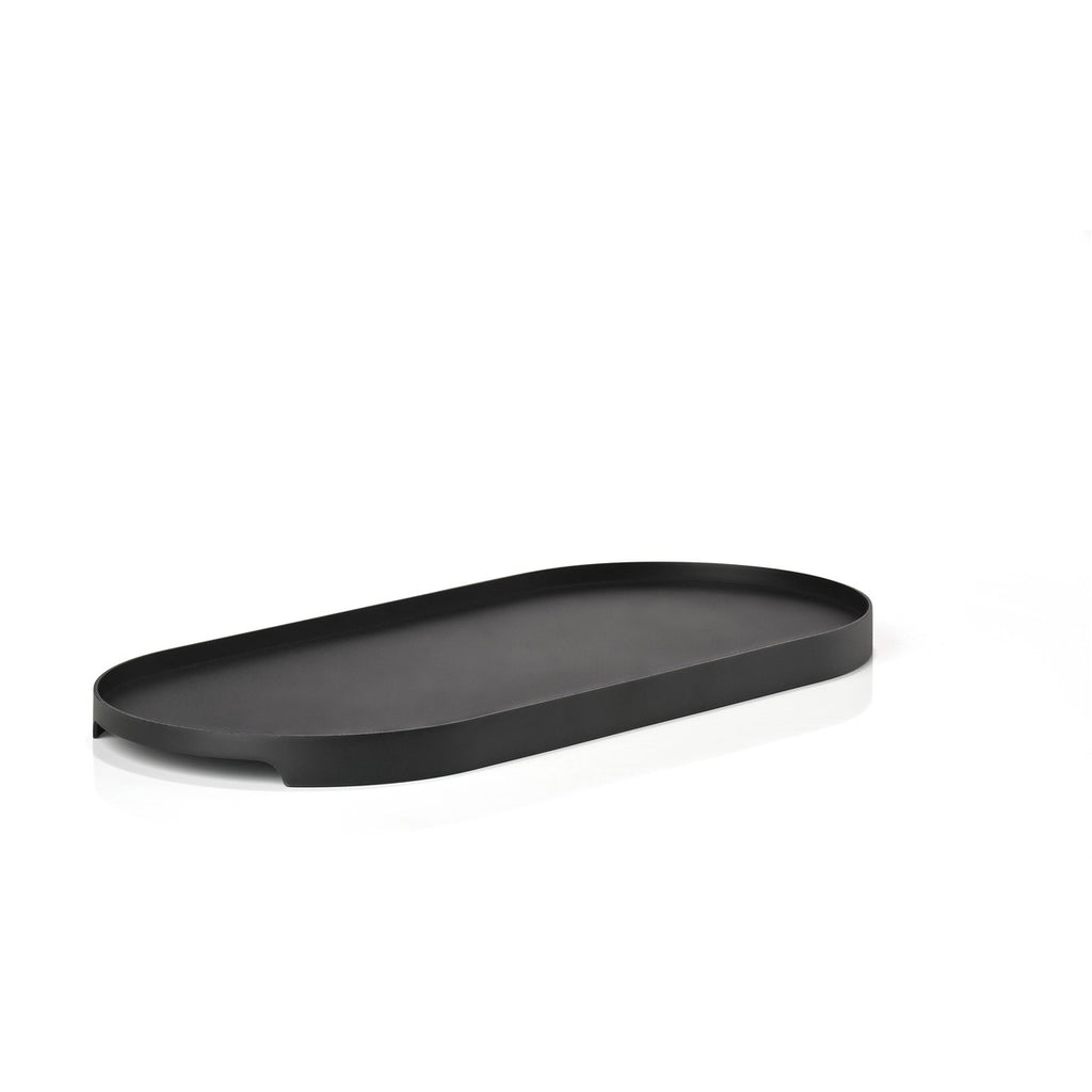 Singles Oval Tray - Black Serveware Default Title Zone Denmark