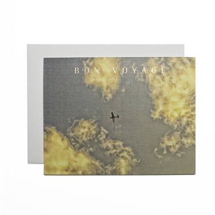 Card - Bon Voyage Airplane