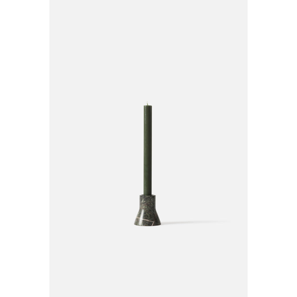 Flare Candle Holder - 3 Colours Candles + Room Fragrances Forest Green Citta
