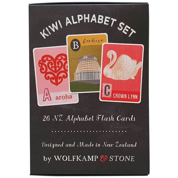 Kiwi ABC Wall Frieze Play Default Title Wolfkamp & Stone