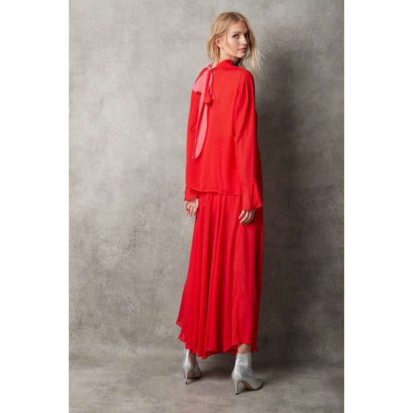 Reese Skirt - Red Womens Clothing XS,S,M,L Arlington Milne