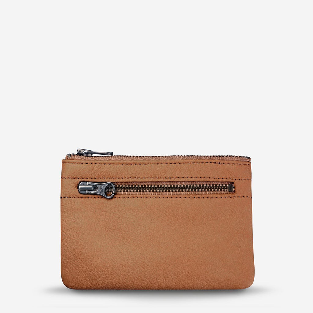 Status Anxiety Anarchy Tan Leather Purse, Status Anxiety NZ Stockist
