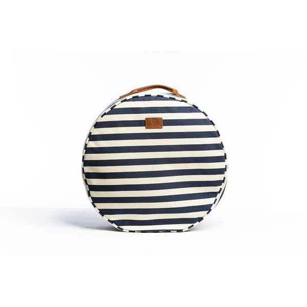Picnic Cushion - Navy Stripe Beach + Boat + BBQ Default Title Slowlife Collection