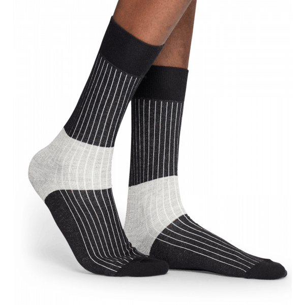 Block Rib Sock Mens Accessories M/L 41-46 Happy Socks