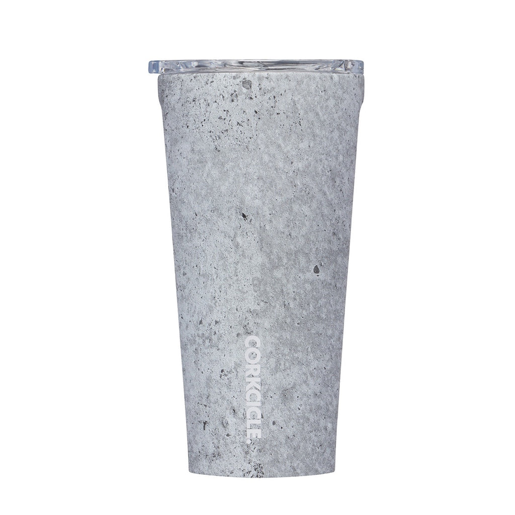 Origins Tumbler 475ml - Insulated Stainless Steel Cup - Concrete Tea + Coffee Default Title Corkcicle