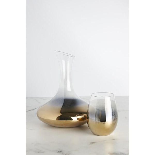 Cariso Gold Wine Decanter