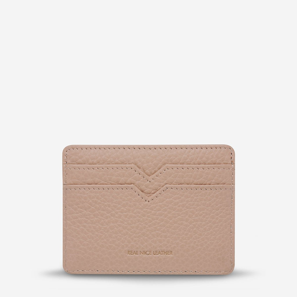 Together For Now Card Holder - Dusty Pink Bags + Wallets Default Title Status Anxiety