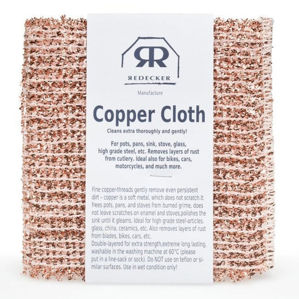 Copper Cloth - Set of 2 Cleaning + Brushware Default Title Redecker