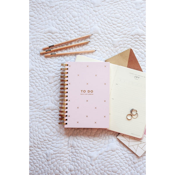 Frank To Do Daily List & Notes - Blush