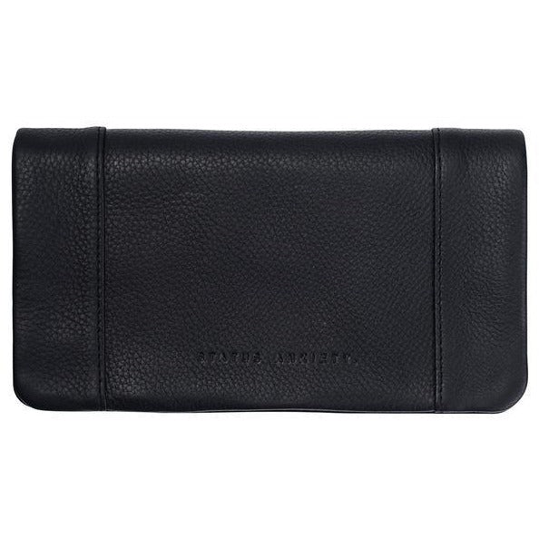 Some Type of Love Black Wallet Bags + Wallets Default Title Status Anxiety