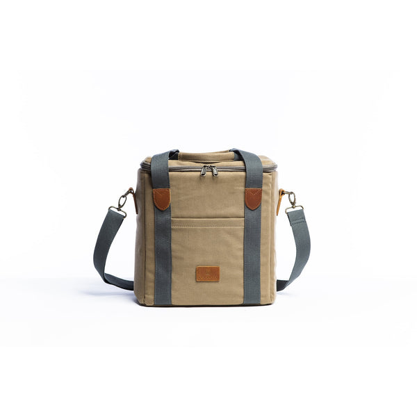 Cooler Bag - Olive Beach + Boat + BBQ Default Title Slowlife Collection