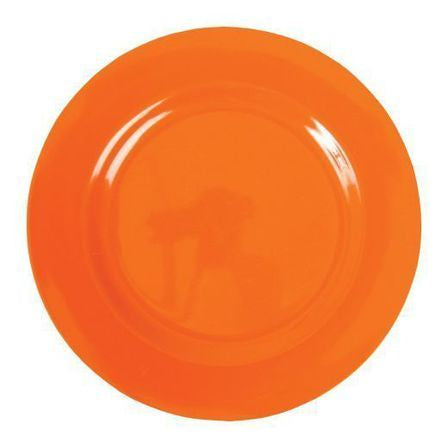 Rice Melamine Dinner Plate - Orange