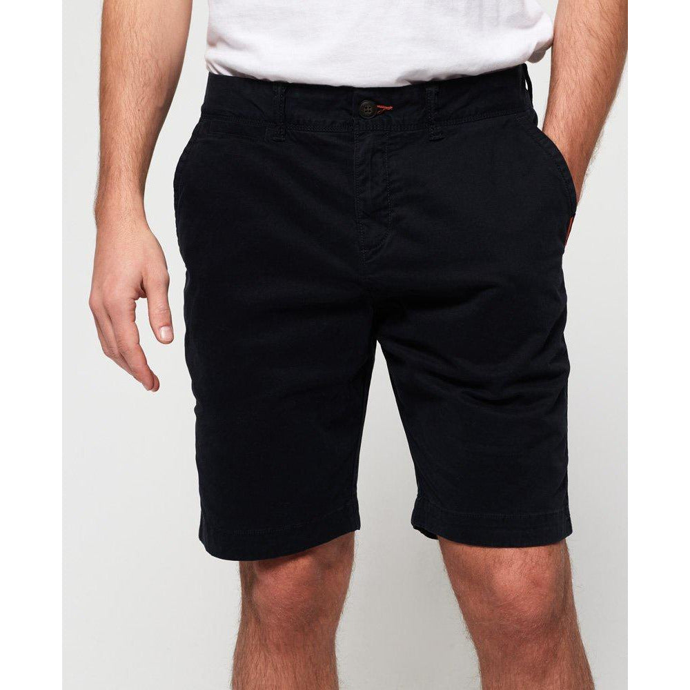 Superdry International Slim Chino Lite Short - Midnight Sky