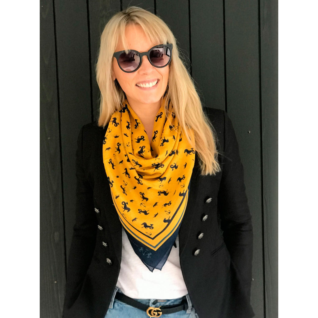 Dark Hampton The Shaw Scarf, Cashmere Modal Scarf