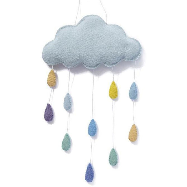 Cloud Wall Hanging - 2 Colours Baby Blue,Pink Nana Huchy