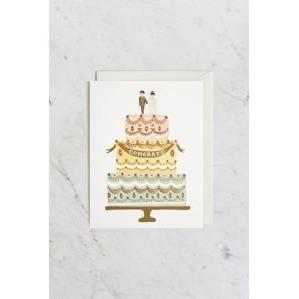 Congrats Wedding Cake Cards Default Title Rifle Paper