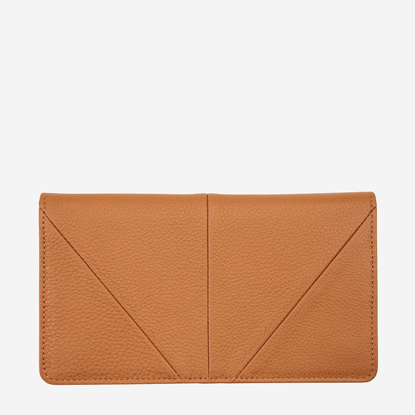 Status Anxiety Tan Triple Threat Wallet