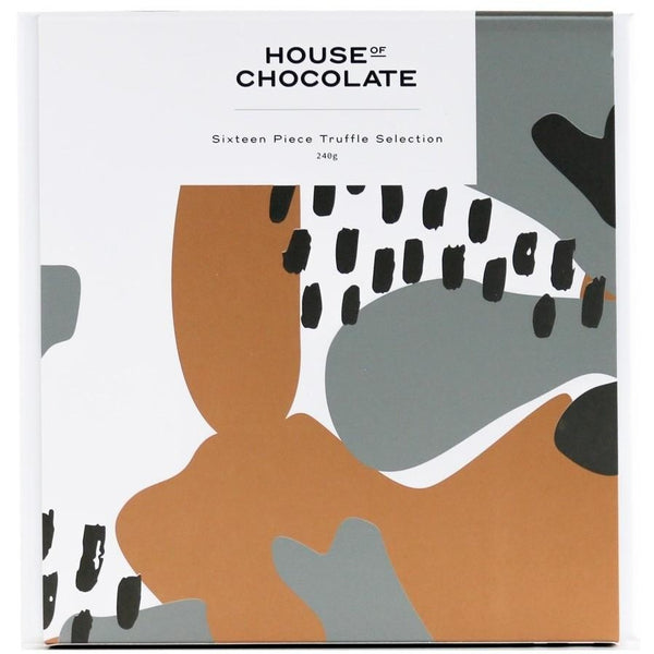 House of Chocolate Chocolate Truffle Box 16 pieces
