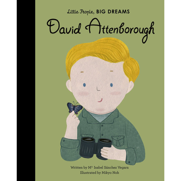 David Attenborough - Little People, Big Dreams Play Default Title Allen & Unwin