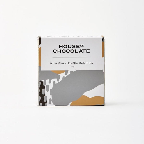 House of Chocolate Liqueur Truffle Box - 9 piece selection NZ Made, Handmade Chocolates