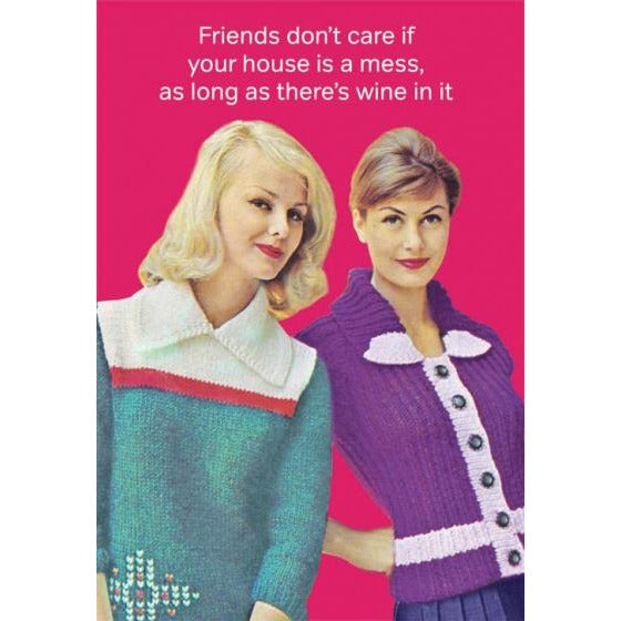Friends Don't Care Cards Default Title Cath Tate