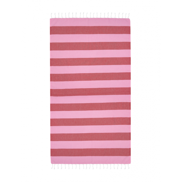 Turkish Towel Bold - Lolly/Raspberry Beach + Boat + BBQ Default Title Hammamas