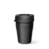 KeepCup Thermal, Reusable Thermal Cup. Keep Cup Auckland Reseller, Thermal Reusable Medium 12oz Cup Black