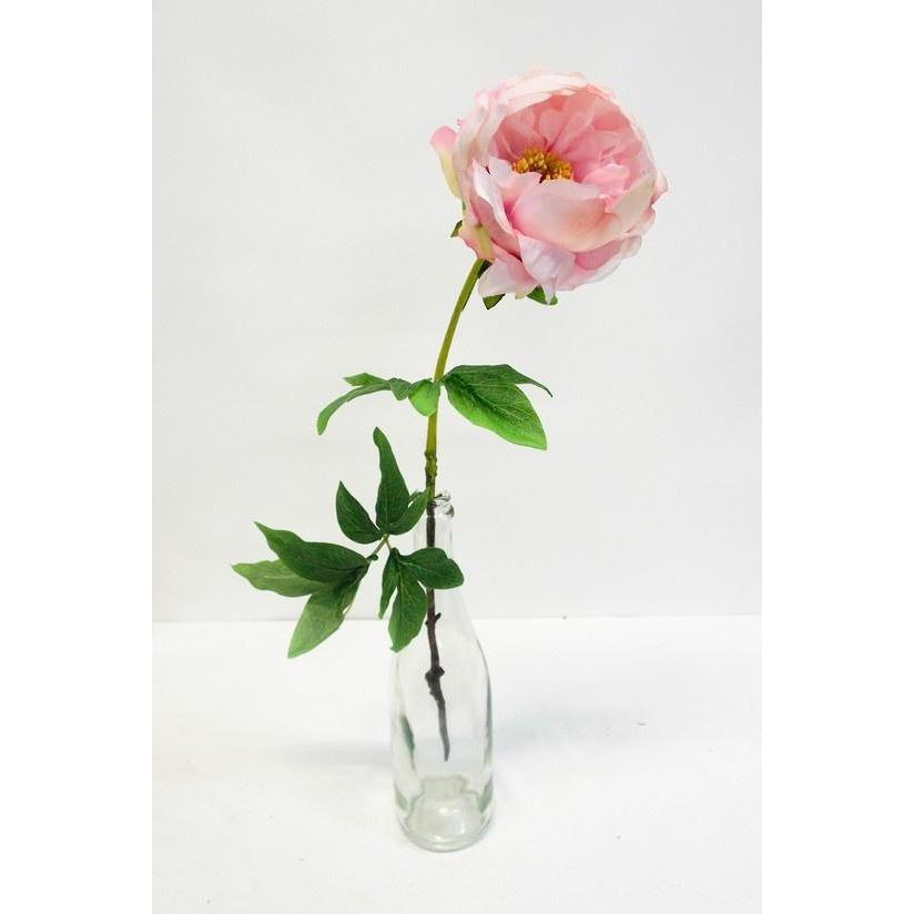 Angel Cupped Peony Faux Flower