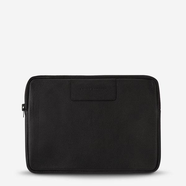 "Before I Leave Laptop Case - Black - 2 Sizes Tech 13"",15"" Status Anxiety"