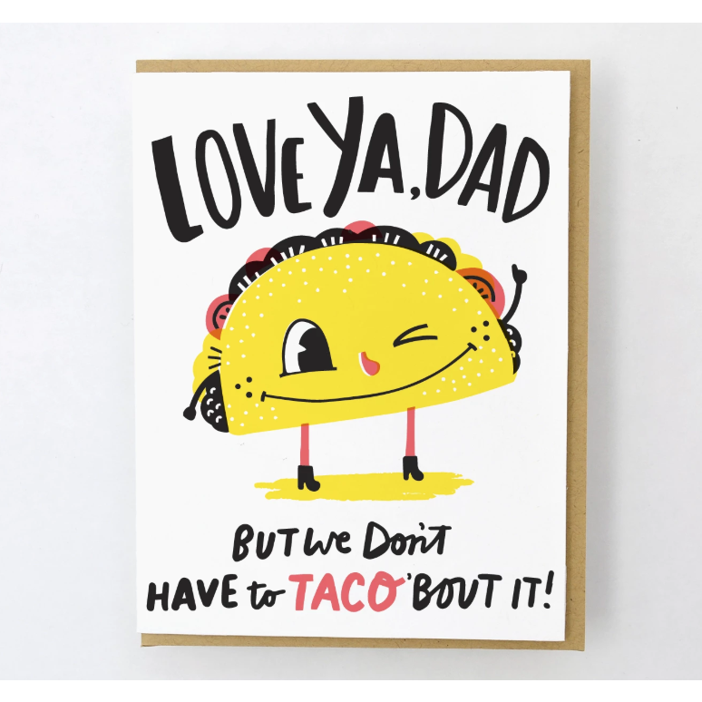 Card - Taco Dad Cards Default Title Hello Lucky