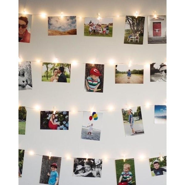 Photo String Lights - Battery Operated